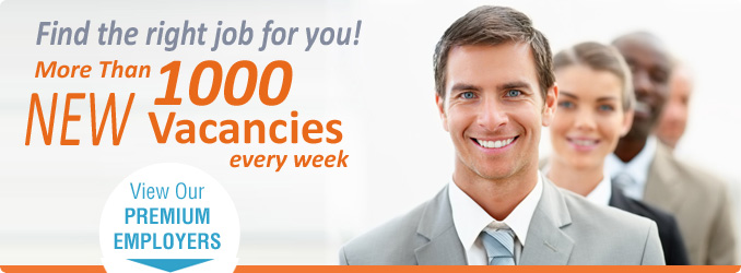 find the right job for you, more than 1000 new career opportunities